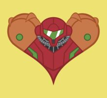 Samus Heart Kids Tee