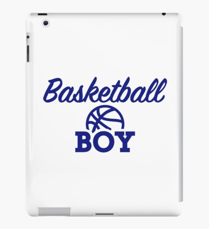 Basketball boy iPad Case/Skin