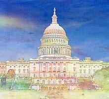US Capitol by LynyrdSky