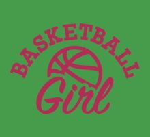 Basketball girl Kids Tee