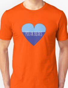 Polar Bear Love Unisex T-Shirt