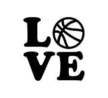 Basketball love Photographic Print