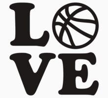 Basketball love Kids Tee