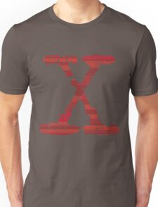 Wisdom of X-Files (Red) Unisex T-Shirt