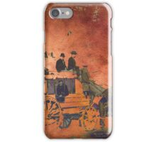 The Deadwood Coach iPhone Case/Skin