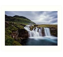 Kirkjufellsfoss From a Different Angle Art Print