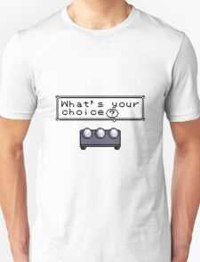 What's your choice? Pokemon Unisex T-Shirt