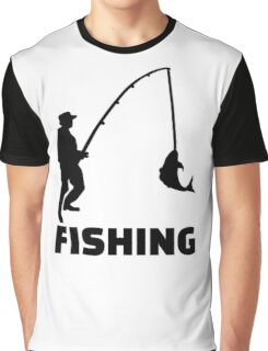 Fishing Graphic T-Shirt
