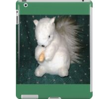 Exeter- White Squirrel - made for me as a gift iPad Case/Skin
