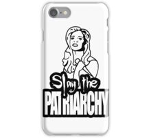 Slay the Patriarchy iPhone Case/Skin