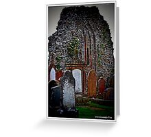 Movilla Abbey Greeting Card