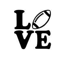 Football love Photographic Print