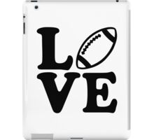 Football love iPad Case/Skin
