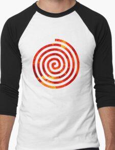 Sunny Swirl Men's Baseball ¾ T-Shirt