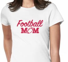 Football mom Womens Fitted T-Shirt