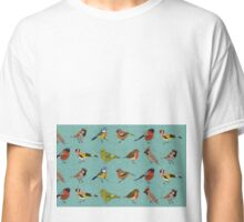 British Garden Birds Classic T-Shirt