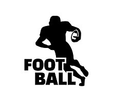 Football player Photographic Print