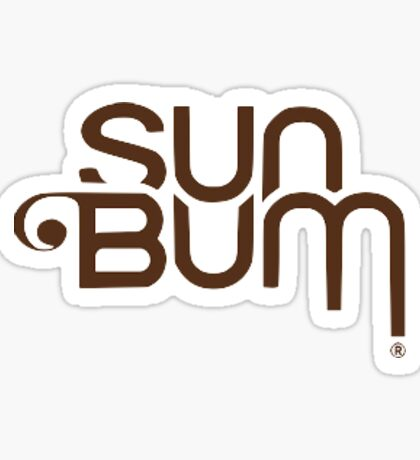 sun bum sticker  Sticker