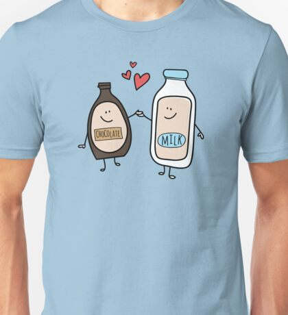 Better Together, Chocolate Milk Love Unisex T-Shirt