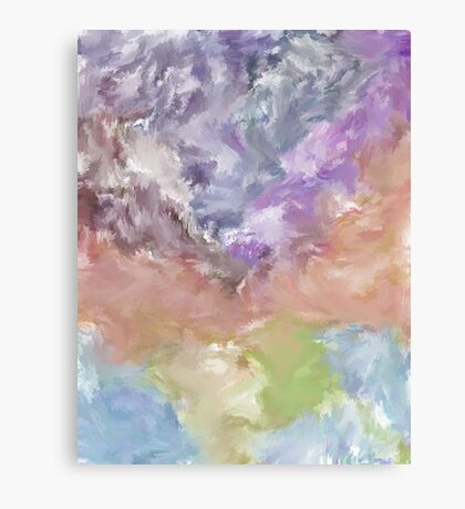 Abstract Nature Landscape Earth Space Canvas Print
