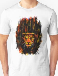 Tiger In The Bushes T-Shirt
