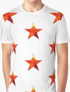 Flaming Star Graphic T-Shirt