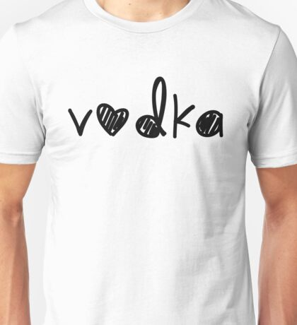 Cute Vodka Unisex T-Shirt