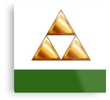 The Triforce Metal Print