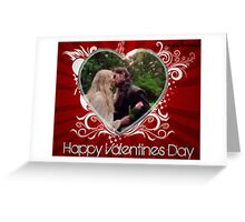 Valentine's Day Captain Swan Style Greeting Card