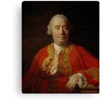 David Hume 1711-1776 Canvas Print