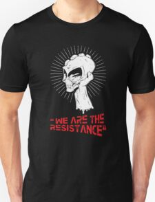 We Are The Resistance Funny Men's Tshirt T-Shirt