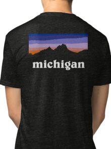 Michigan Tri-blend T-Shirt