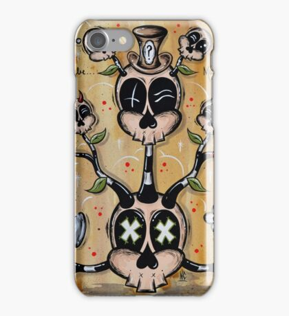 The Weight of the Mind iPhone Case/Skin