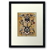 The Weight of the Mind Framed Print
