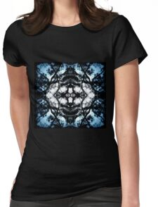 Abstraction of the Mind  Womens Fitted T-Shirt