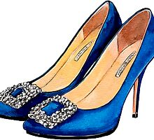 Manolo Blue by whatkimydid