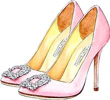 Manolo Pink  by whatkimydid