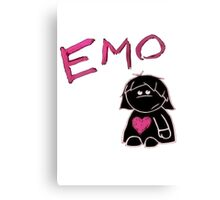 emo love Canvas Print