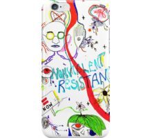 nonviolent resistance iPhone Case/Skin