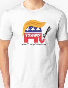 Donald Trump For President GOP Elephant Hair ©TrumpCentral.org Unisex T-Shirt