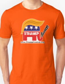Donald Trump For President GOP Elephant Hair ©TrumpCentral.org T-Shirt