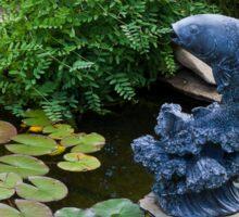 Serenity At The Pond  Sticker