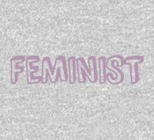 Feminist in pink Kids Tee