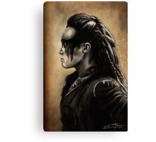 Lexa Profile View  Canvas Print
