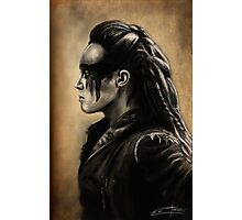 Lexa Profile View  Photographic Print