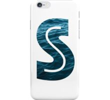 """The Letter """"S"""" Ocean iPhone Case/Skin"""