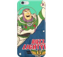 Toy Story Classic 1996 Vintage Buzz Lightyear iPhone Case/Skin