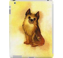 Watercolor Sunny Glow German Shepherd iPad Case/Skin