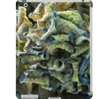 Curled Dried Blue Hydrangea Macro iPad Case/Skin