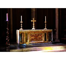 High Altar Photographic Print